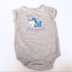 🌈 5 for $25 Unicorn Onesie Sz 6-9 months
